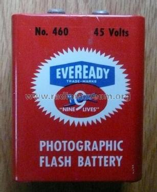 Mini-Max - Photographic Flash Battery - 45 Volts 460; Eveready, National (ID = 1742467) Power-S