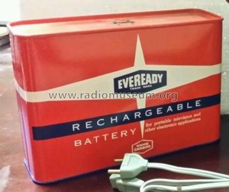 Rechargeable Battery - for portable television and other electronic appliances - +15V 561; Eveready Ever Ready, (ID = 1734013) Power-S