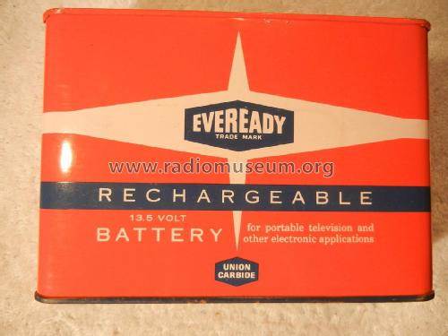 Rechargeable Battery for Portable Television and other Electronic Applications - 13.5 Volts 564; Eveready Ever Ready, (ID = 1736853) Strom-V