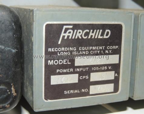 Conax 602 Misc Fairchild Recording Equipment Corp