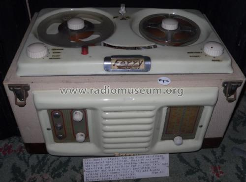 Tape Recorder with Radio Tuner ; Ferry Sound (ID = 2330173) R-Player