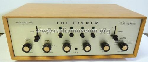 400C ; Fisher Radio; New (ID = 1799249) Ampl/Mixer