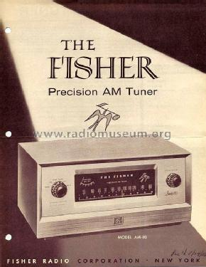 AM-80; Fisher Radio; New (ID = 580103) Radio