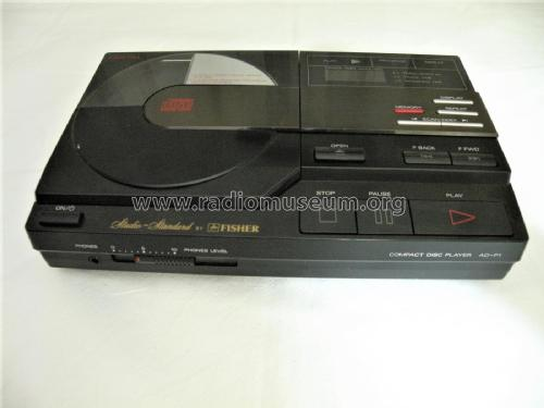 Compact Disc Player AD-P1; Fisher Radio; New (ID = 2238665) R-Player