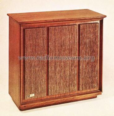 Consolette Four-Way Speaker System XP-18 Speaker-P Fisher Ra