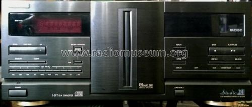 Studio 24 CD Management System - Compact Disc Changer DAC-9336; Fisher Radio; New (ID = 2004211) R-Player