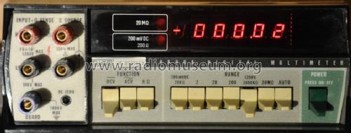 Digital Multimeter 8800A Equipment Fluke, John, Mfg  Co