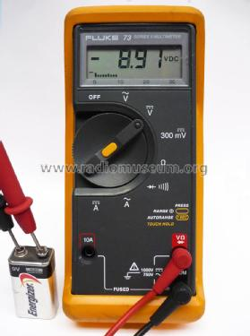 Multimeter 73 Equipment Fluke, John, Mfg  Co  Inc