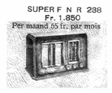 Super FNR 238A; FNR Fabrique (ID = 1453045) Radio