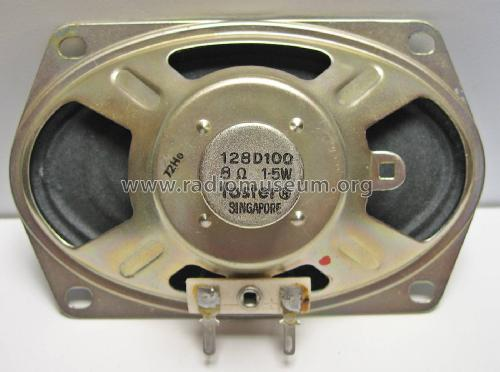 Lautsprecherchassis 128D100; Foster Electric Co. (ID = 2013716) Speaker-P