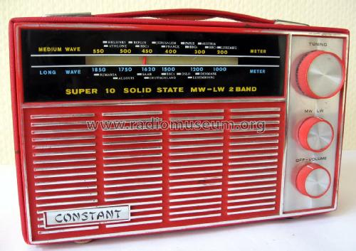 Constant Super 10 Solid State MW-LW 2 Band ; Fuji High Frequency (ID = 1903329) Radio