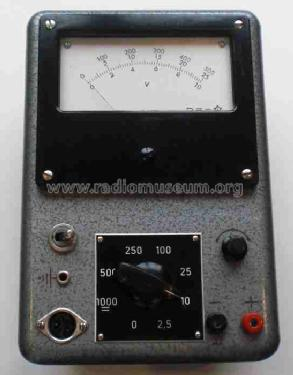Standard-Röhren-Voltmeter ; Funke, Max, Weida/Th (ID = 961299) Equipment