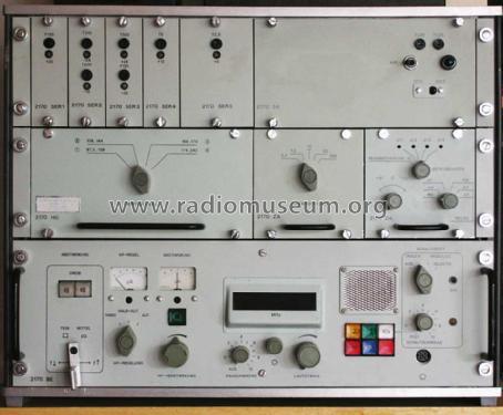VHF / UHF - Empfänger 2170 Receiver-C Funkwerk Köpenick,