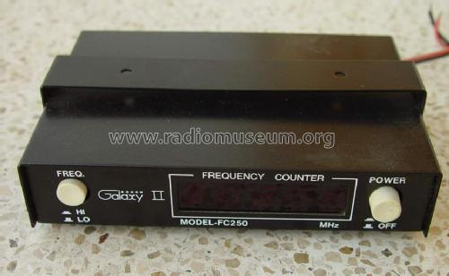 Frequency Counter FC-250; Galaxy Electronics, (ID = 1134212) Equipment