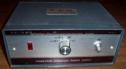 Alimentatore - Power Supply G1/121; Geloso SA; Milano (ID = 1959755) Power-S