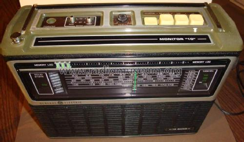 10 Band Portable Radio 7-2971 or 7-2971A; General Electric Co. (ID = 1200731) Radio