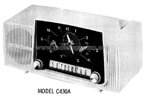 C430A ; General Electric Co. (ID = 510536) Radio