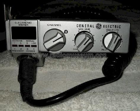 Citizen Band Transceiver 3-5806A Citizen General Electric Co