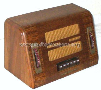 GD-60 ; General Electric Co. (ID = 841880) Radio