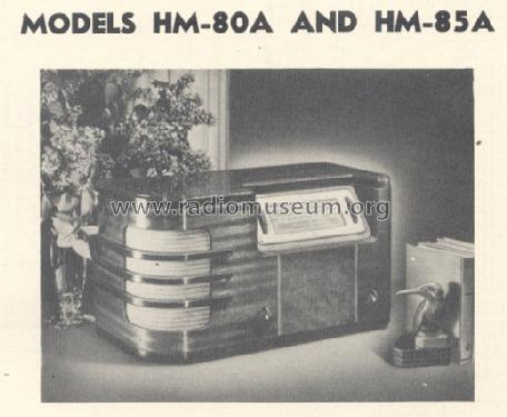 HM-80A Radio General Electric Co  GE
