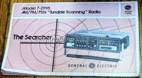 Searcher 7-2995A; General Electric Co. (ID = 1521842) Radio