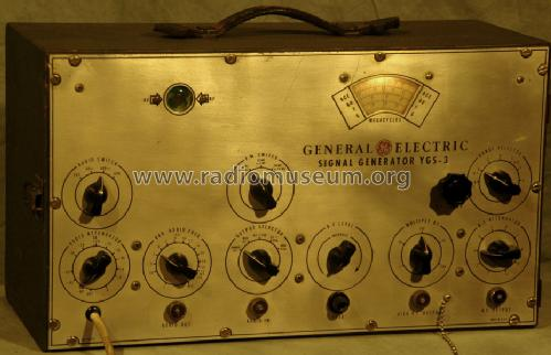 Signal Generator YGS-3 ; General Electric Co. (ID = 1455035) Equipment