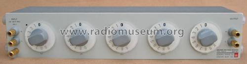 Decade Voltage Divider 1455-B; General Radio (ID = 457010) Equipment