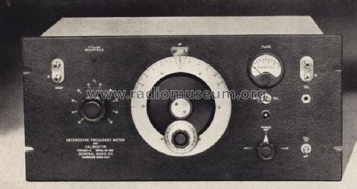Heterodyne Frequency Meter 620-A; General Radio (ID = 1323276) Equipment