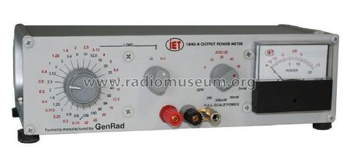 IET Output Power Meter 1840-A; General Radio (ID = 2518468) Equipment