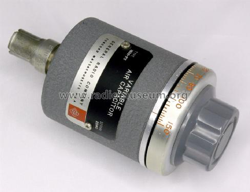 General Radio Variable Air Capacitor 1602-P3 from Jean-Francois Loude ...