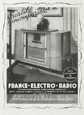 meuble radio france electro radio fer f e r giraud migno. Black Bedroom Furniture Sets. Home Design Ideas