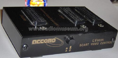 Scart Video Control Accord LV003N; Global Max Limited; (ID = 1103841) Misc