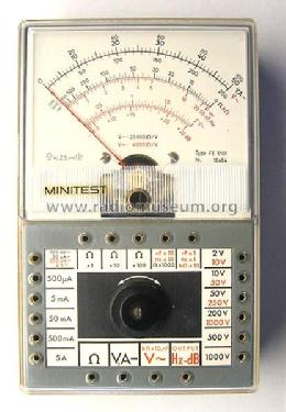 Minitest FE5101; Goerz Electro Ges.m. (ID = 134344) Equipment