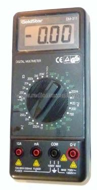 Digital Multimeter DM-311; Gold Star Co., Ltd., (ID = 1864073) Ausrüstung