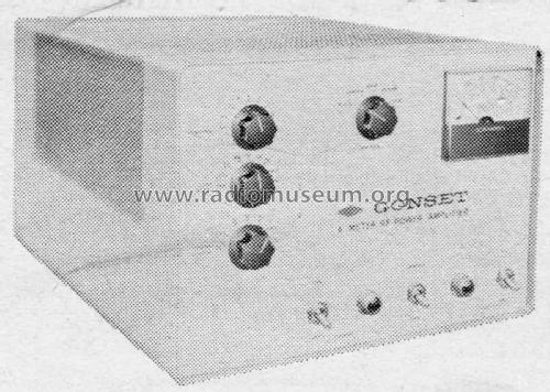 RF Power Amplifier 913A; Gonset Inc., (ID = 2083303) Amateur-D