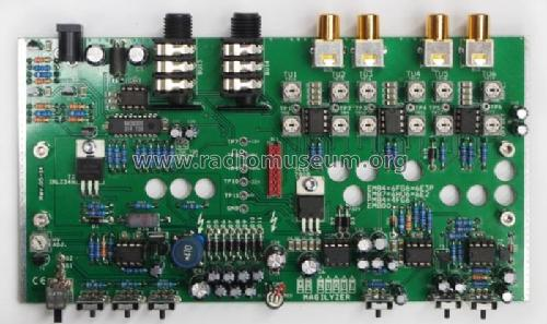 Analog Audio Spectrum Magilyzer Kit Grau, Jürgen - Mr