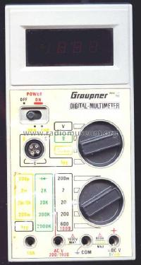 Digital Multimeter Best-Nr.762; Graupner, Johannes; (ID = 525187) Equipment