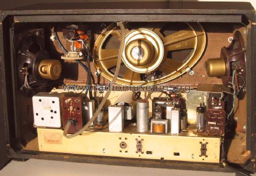 3045ws/3d radio grundig radio-vertrieb, rvf, radiowerke, bui, Schematic