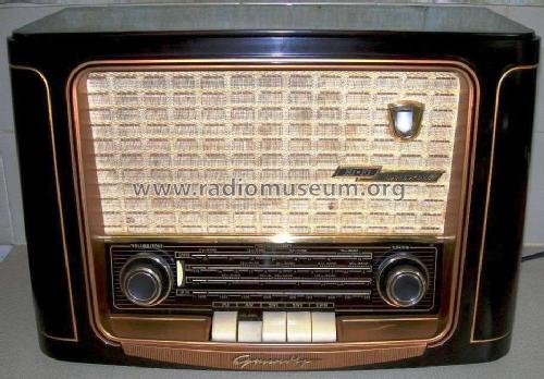 965WE; Grundig Radio- (ID = 468559) Radio