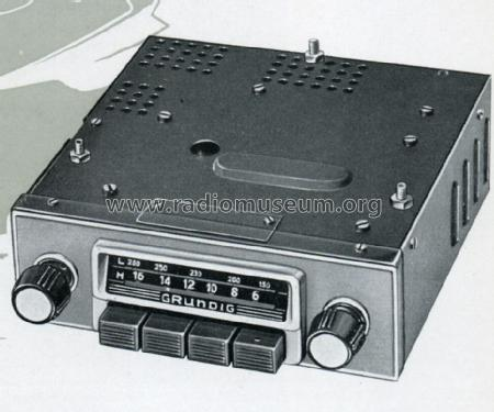 Drucktasten-Autosuper AS53; Grundig Radio- (ID = 1558956) Car Radio