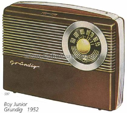 Boy Junior ; Grundig Radio- (ID = 238) Radio