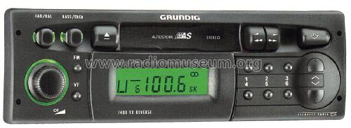 Car Radio 1400 VD; Grundig Radio- (ID = 1990469) Car Radio