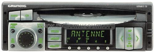 Car Radio Advance CD; Grundig Radio- (ID = 1989147) Car Radio