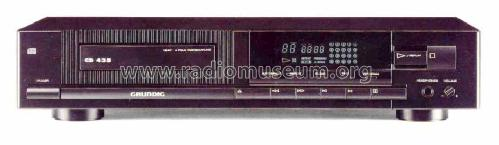 CD435; Grundig Radio- (ID = 1361493) R-Player