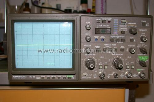 Digitales Speicheroszilloskop SO 50; Grundig Radio- (ID = 2112074) Equipment
