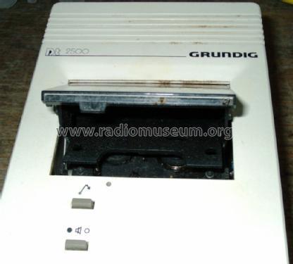Grundig Stenorette Dt2500 Dt 2500 Diktiergerät Wiedergabegerät              **60