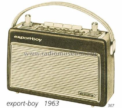 Export-Boy 203; Grundig Radio- (ID = 286) Radio