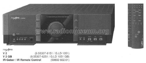 fine arts v2gb ampl mixer grundig radio vertrieb rvf radio. Black Bedroom Furniture Sets. Home Design Ideas