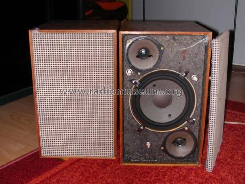 hifi lautsprecher box 205 speaker p grundig radio vertrieb. Black Bedroom Furniture Sets. Home Design Ideas