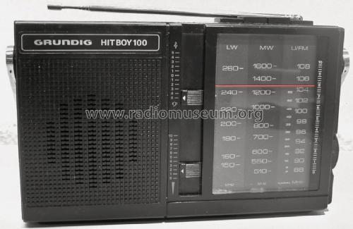 Hit Boy 100; Grundig Radio- (ID = 2375667) Radio